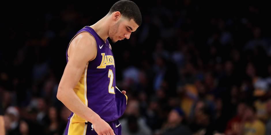 NBA: Les Lakers privés de Ball pour Noël