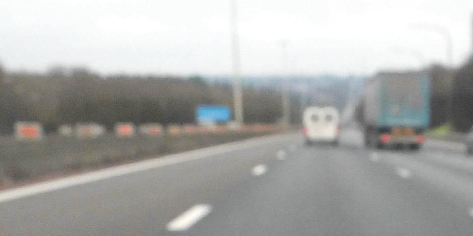 Une camionette intercepté en France avec une surcharge de... 3 tonnes!