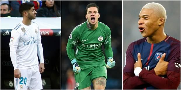 Asensio, Ederson et Mbappé parmi les révélations UEFA de l'année - La DH
