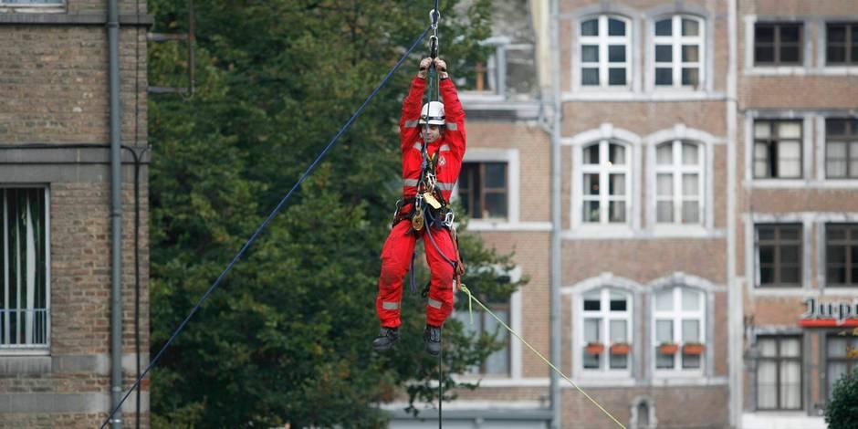Une rue trop étroite à Braine-l'Alleud: les pompiers font appel au GRIMP