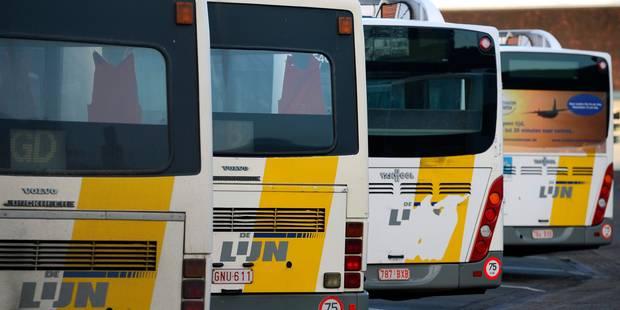 Anderlecht: Un bus De Lijn à nouveau vandalisé à Cureghem ! - La DH