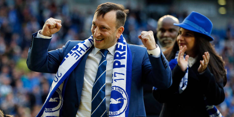 "Le fabuleux destin de Tony ""Lizard"" Bloom, le boss de Brighton - La DH"
