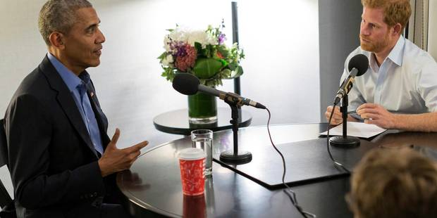 """""""Interviewé"""" par le prince Harry, Obama se confie sur sa vie depuis qu'il a quitté la Maison Blanche - La DH"""