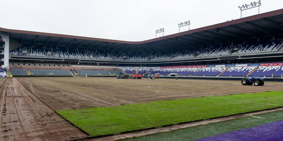 Une nouvelle pelouse à Anderlecht dès janvier