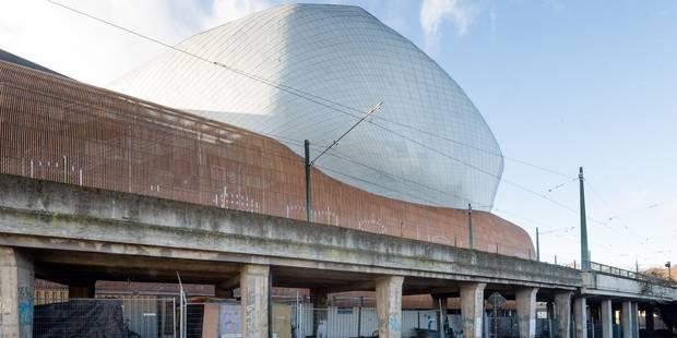 Un camp de Roms installé devant Docks Bruxsel - La DH