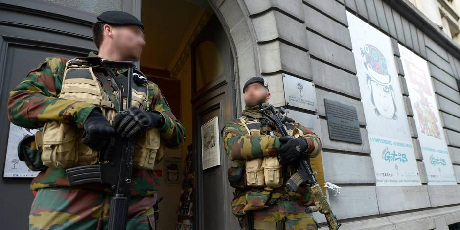 Menace terroriste: Le niveau de la menace pourrait être ramené à 2 dans les prochains mois
