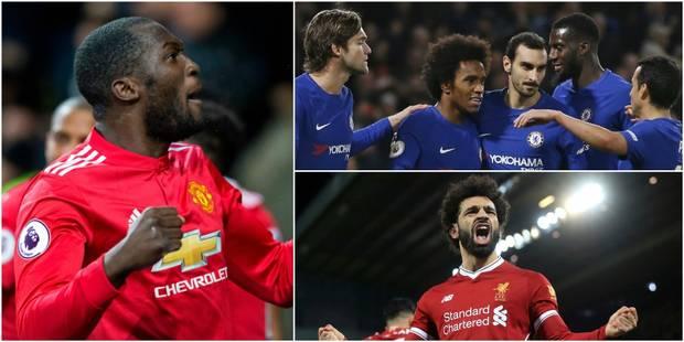 Premier League: Lukaku sort blessé à la tête, Liverpool renverse Leicester, Chelsea écrase Stoke (DIRECT) - La DH