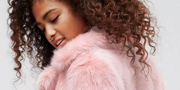 Le manteau en fausse fourrure colorée va envahir nos penderies (PHOTOS) - La DH