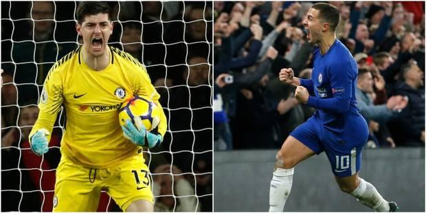 """Quand Hazard et Courtois se renvoient la balle: """"Je ne sais pas qui sera le premier à signer son nouveau contrat"""" - La D..."""