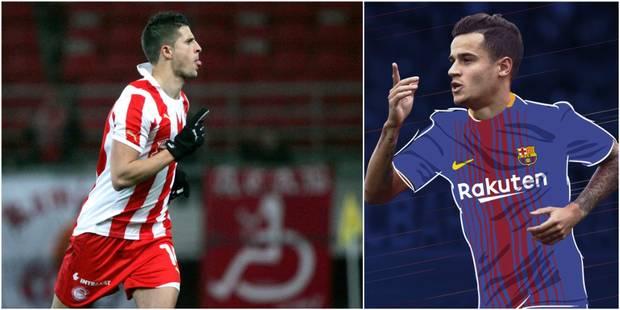 Le journal du mercato (06/01): Coutinho transféré au FC Barcelone, Mirallas retourne à l'Olympiacos (OFFICIEL) - La DH
