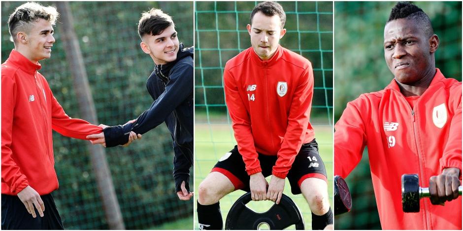 Le Standard en stage hivernal: Ces quatre jeunes prêts à devenir grands - La DH