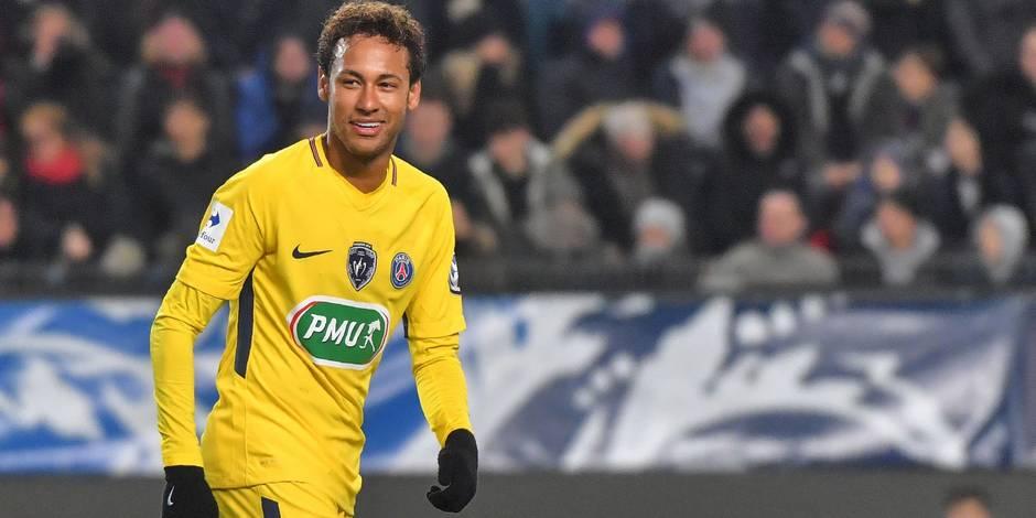 L'action collective de toute beauté du PSG avec Neymar à la conclusion (VIDEO)