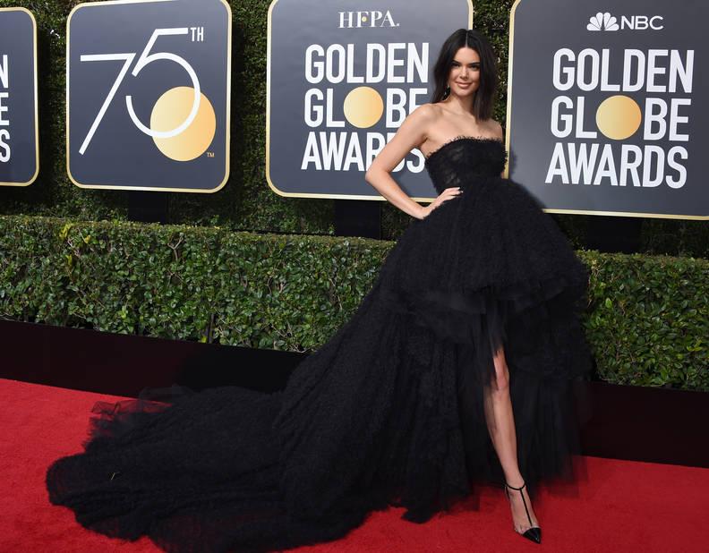 Kendall Jenner, la tenue des grands grands jours.