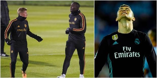 De Bruyne et Lukaku dans le Top 10 des joueurs les plus chers du marché, Cristiano Ronaldo loin derrière - La DH
