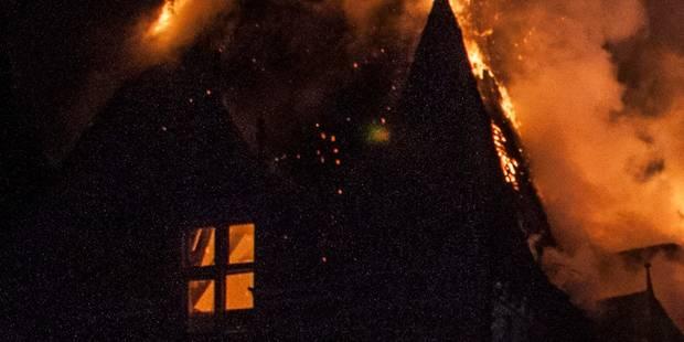 Une maison en feu à Soumagne - La DH