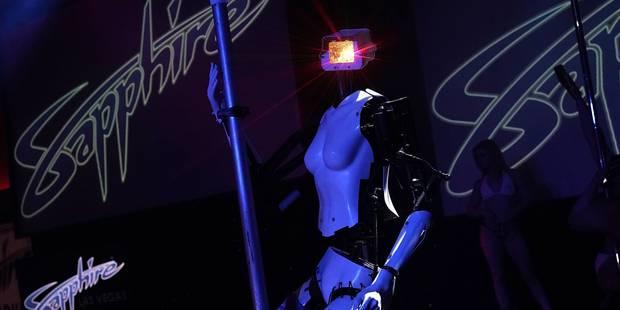 """A Las Vegas, les robots se lancent dans la """"pole-dance"""" (VIDEO) - La DH"""
