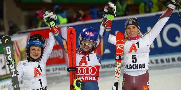 Ski alpin: lauréate du slalom de Flachau, Shiffrin décroche déjà sa 10e victoire cette saison - La DH