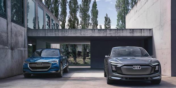Au Salon, Audi annonce l'ouverture des préréservations de l'arme anti-Tesla - La DH
