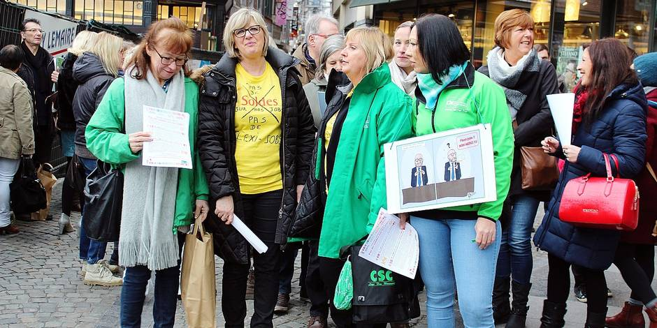 Liège : pas de soldes sur les jobs !
