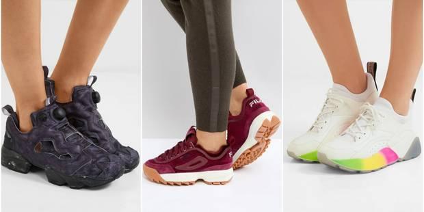Quand les sneakers prennent de la hauteur - La DH