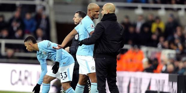 Toujours blessé au mollet, Vincent Kompany ne disputera pas le choc à Liverpool - La DH