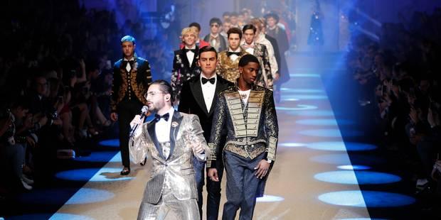 Dolce & Gabbana offre un show royal à la Fashion week de Milan - La DH