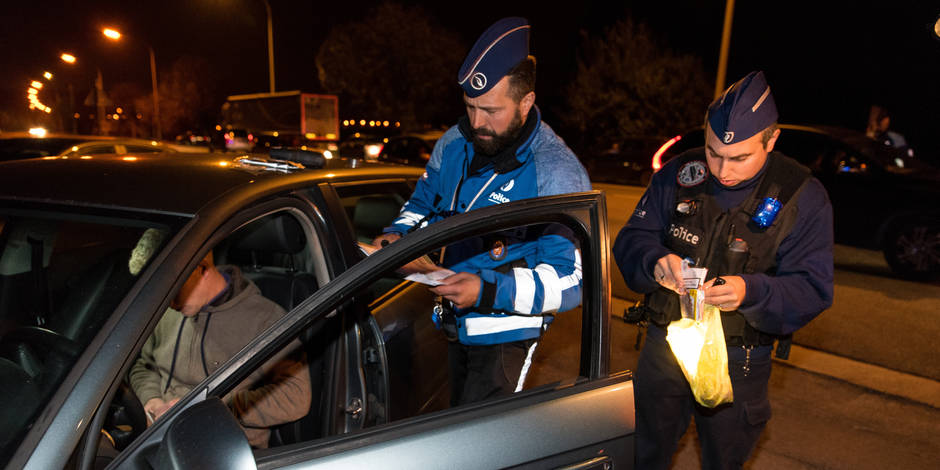 42 automobilistes sous influence dans le Borinage