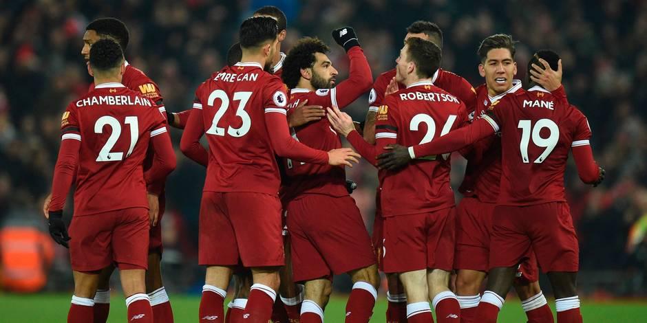 Liverpool-Man City: Firmino, Mane et Salah font exploser la bande à KDB (4-1)