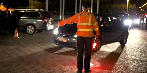La police récupère 40.000 euros de taxes impayées en un week-end - La DH