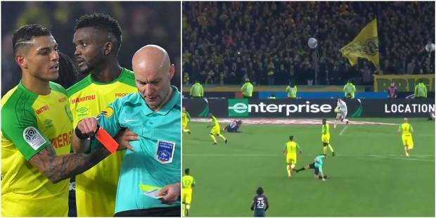 """L'arbitre Chapron s'excuse pour un """"geste inapproprié"""", le joueur blanchi (VIDEO) - La DH"""