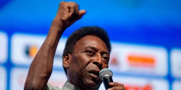 """Le """"Roi"""" Pelé voit le Brésil favori pour le Mondial 2018 - La DH"""
