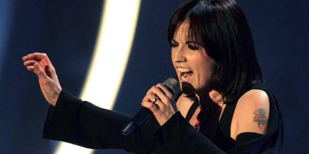 La mort de Dolores O'Riordan, la chanteuse des Cranberries, n'est pas considérée comme suspecte par la police - La DH