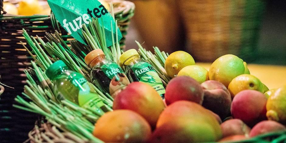 Fuze Tea : la nouvelle boisson Coca-Cola, produite à Anderlecht, qui doit révolutionner le marché du soda - La DH