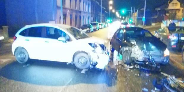 Un blessé lors d'une collision à Montignies-sur-Sambre - La DH