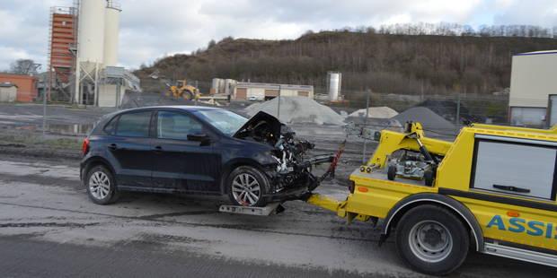 Deux blessés après une collision frontale à Antoing - La DH