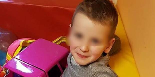 """Sully, 6 ans, condamné par une tumeur cérébrale: """"Mon coeur de maman est déchiré en 1000 morceaux"""" - La DH"""
