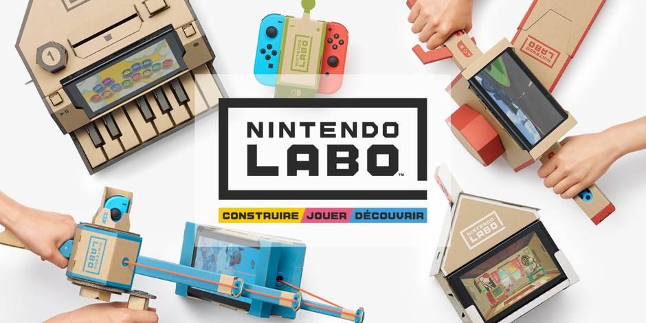 Nintendo dévoile son labo pour la Switch