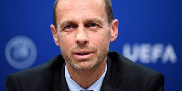 """Ceferin, président de l'UEFA, annonce une """"taxe de luxe"""" sur les clubs - La DH"""