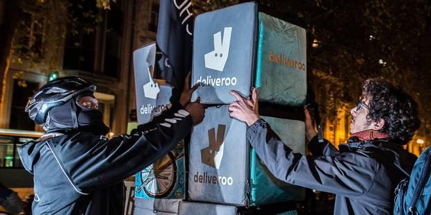 Les coursiers de Deliveroo à nouveau en grève ce samedi - La DH