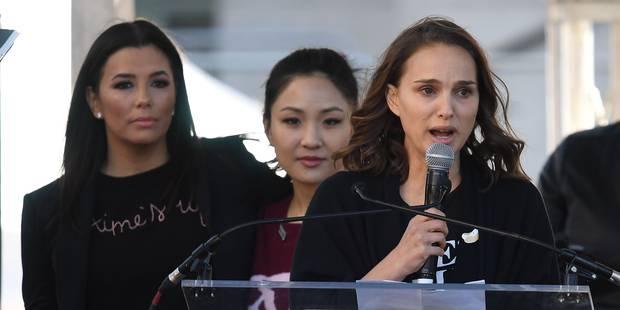"""Harcèlement à Hollywood: la première lettre de fan de Natalie Portman """"était le viol fantasmé qu'un homme m'avait écrite..."""