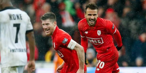 """Pocognoli aime les buts importants: """"C'est le plus beau moment depuis mon retour au Standard"""" - La DH"""