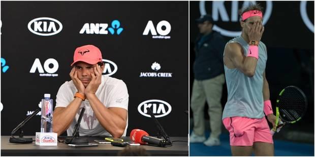 """Rafael Nadal affecté par son abandon à l'Open d'Australie: """"C'est difficile à accepter"""" - La DH"""