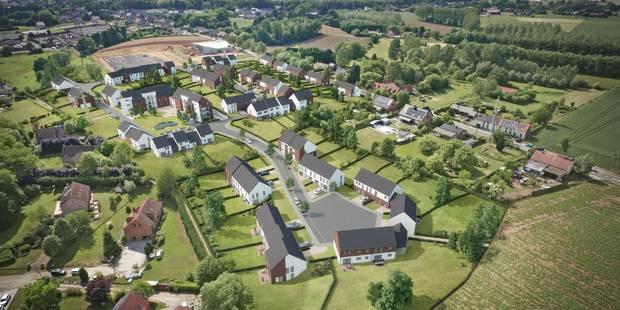 85 nouveaux logements en projet près du hall sportif de Virginal - La DH
