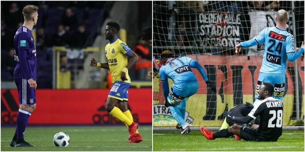Anderlecht manque un penalty et partage face à Waasland-Beveren (2-2), Charleroi surpris à Eupen (1-0) - La DH