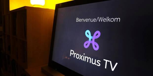 Problèmes sur le réseau Proximus TV: la panne a été réparée - La DH