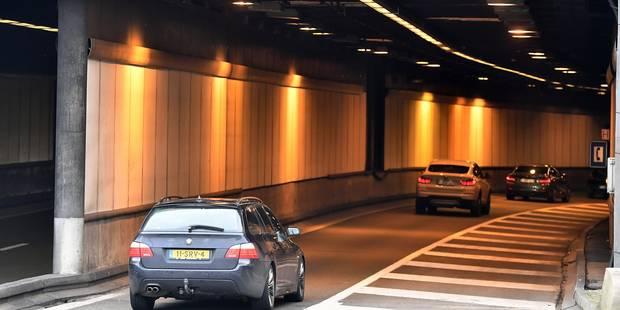 Début de la première phase de rénovation des tunnels Reyers, le tunnel vers Meiser sera fermé trois mois - La DH