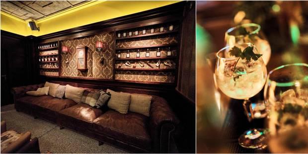 Arthur Orlans, le nouveau bar chic de Bruxelles où boire un Gin Tonic - La DH