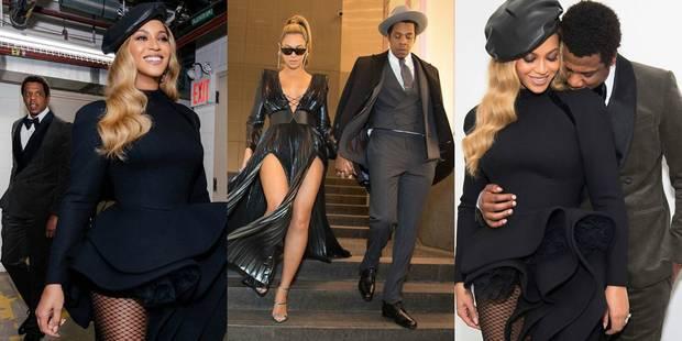 Beyoncé et Jay-Z : complicité retrouvée et communication maîtrisée durant le week-end des Grammys - La DH