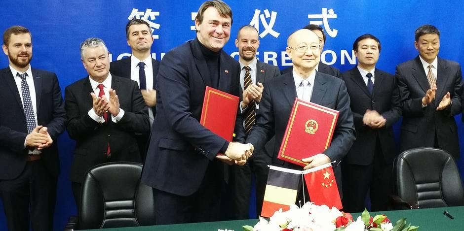 """Denis Ducarme, en visite à Pékin: """"On ouvre la Chine aux exportations de boeuf et de volaille belges"""" - La DH"""