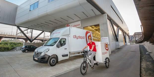 Charleroi: 6.340 camions au centre-ville chaque semaine, il manque des aires de livraison - La DH